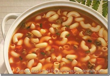 Tomato and Pasta Soup | Soups | Pinterest
