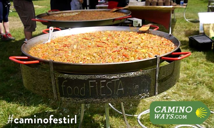 Cook paella like a pro: two @FoodFiesta kits to win #caminofestirl photo competition http://bit.ly/1zpAXai