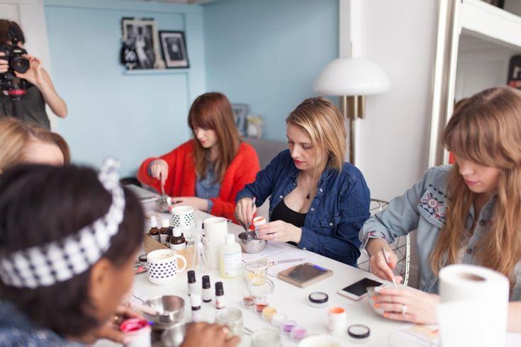 On a testé pour vous l'atelier DIY cosmétique bio et végétal. #EVJF | EVJF Mariage | Queen For A Day - Blog mariage