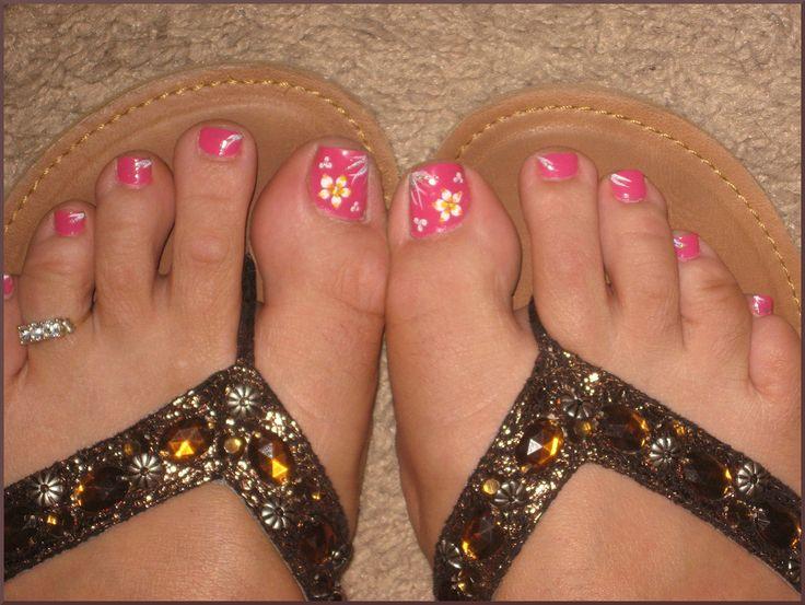 The 25+ best Simple toenail designs ideas on Pinterest ...