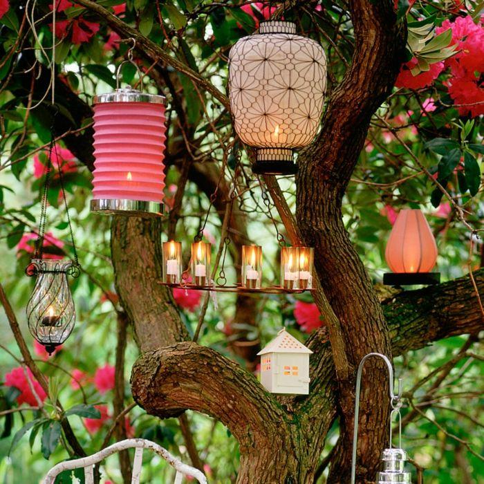 Gartenparty Dekoration
