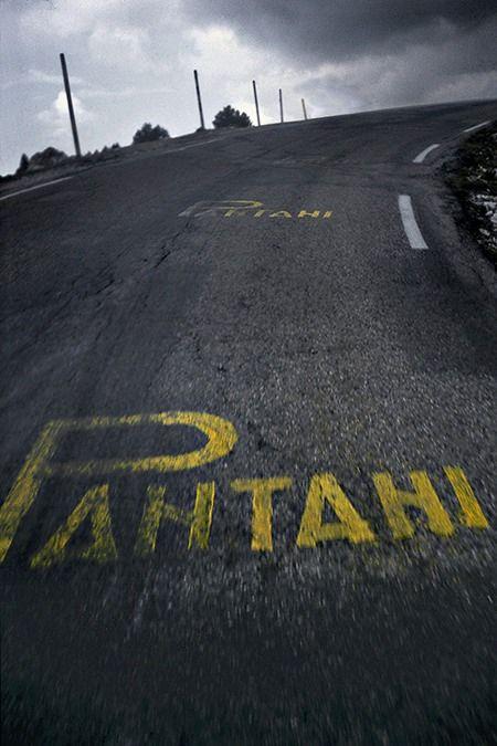 Road ghosts. #pantani