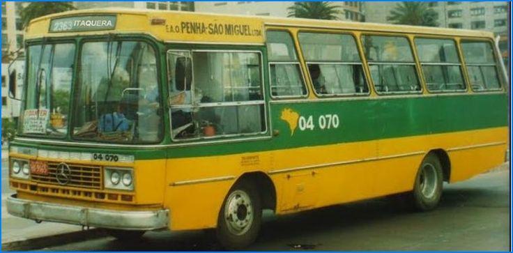 Ônibus Penha São Miguel - apelidado de poeirinha, pois era sujo.  O moradores pegavam  o Jardim Helena o que subia o viaduto da Vila Matilde, para ir e voltar à Penha