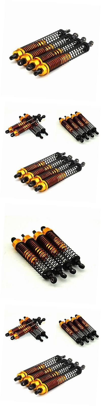 Radio Control 51029: 130Mm Gold Alloy Dampers (4) - Oil Shocks For 1:10 Rc Crawlers Suit Axial -> BUY IT NOW ONLY: $36.13 on eBay!