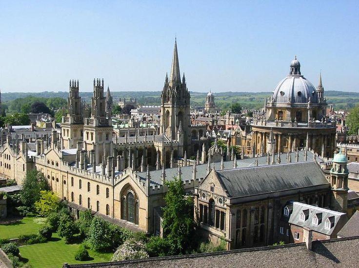 Oxford en Oxfordshire, Oxfordshire