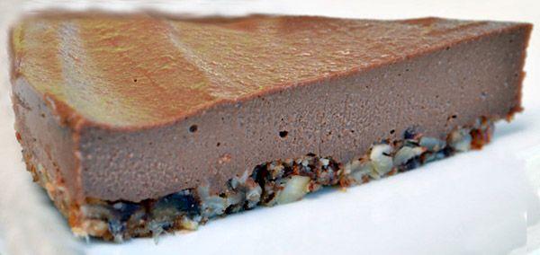 Pie σοκολάτας με ξηρούς καρπούς - Xωρίς γαλακτοκομικά!