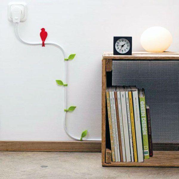 как красиво спрятать провода в квартире