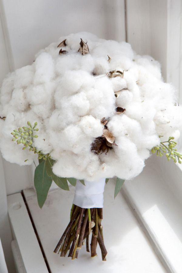 Cotton Bouquet ;)  Photography by eauphoto.com