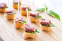 Low Fodmap Prosciutto Melon Bites | FUN WITHOUT FODMAPS