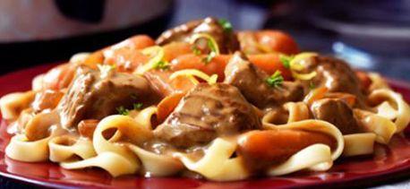 Rich Burgundy Mushroom Stew