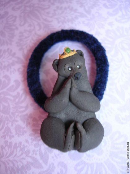 Детская бижутерия ручной работы. Ярмарка Мастеров - ручная работа Резиночки Храбрая сердцем (Мерида и мама-медведица). Handmade.