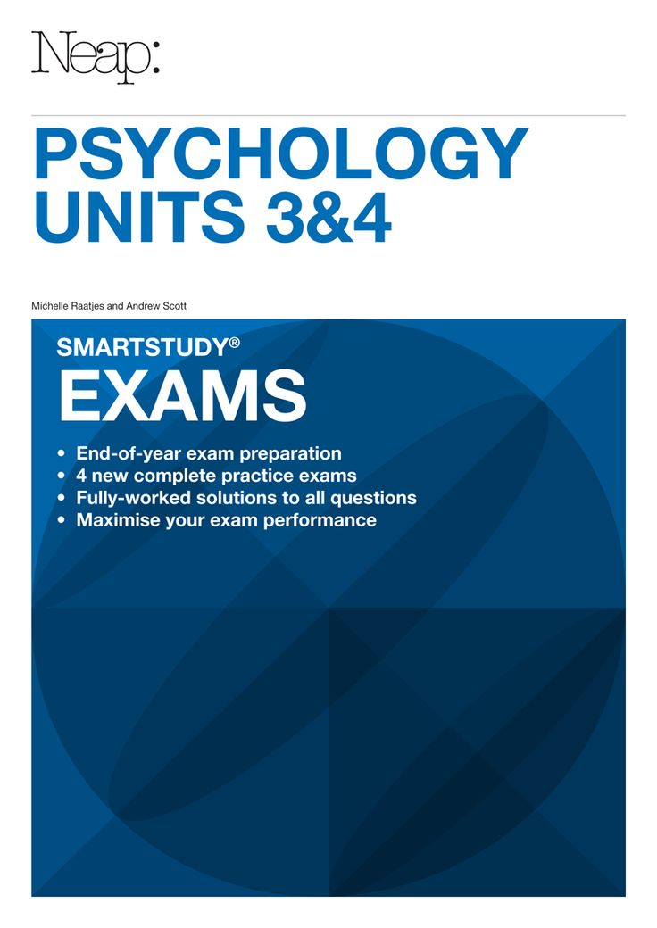 2013 - Designed in preparation for exams to maximise results and overall performance, contains: 4 complete practice exams to comprehensively test students' knowledge of the entire Unit 3&4 course,   fully-worked solutions, including explanations of multiple-choice questions, to show how and why answers are derived and marks are gained and a design reflecting the VCAA format for each subject, so you are prepared for the style and difficulty of your exams.
