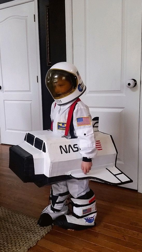 Astronaut and Rocket Ship halloween costume