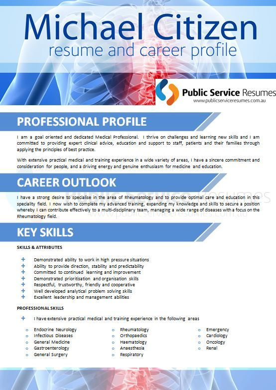 A good resume for a healthcare or Allied Health professional will be more than just a statement of your work history.  A well-written resume should highlight to an employer the relevant experience and skills that you will bring to their organisation. The 'right' content will depend on your particular work history within the healthcare industry and the kind of role that you are targeting.