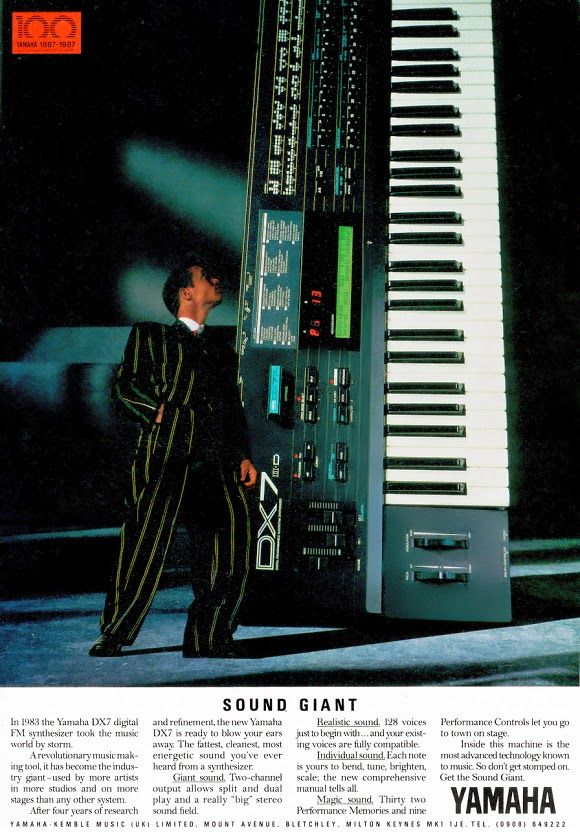The Classic Yamaha DX Synths: A 1980s Revolution | Planet Botch