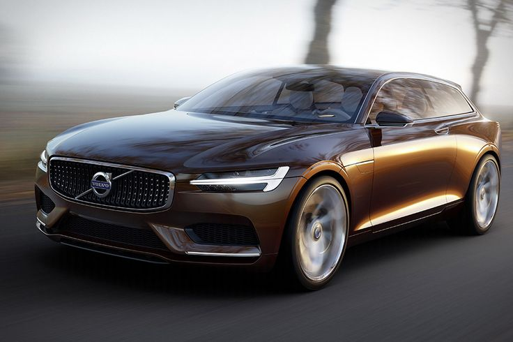 Volvo estate concept car