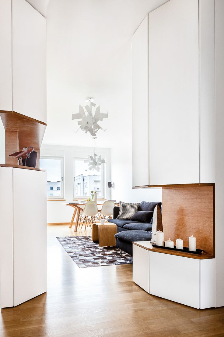 Otwarta kuchnia w bieli hola design homesquare - 13 Best Wn Trza Images On Pinterest Kitchen Ideas Modern Kitchens And Room