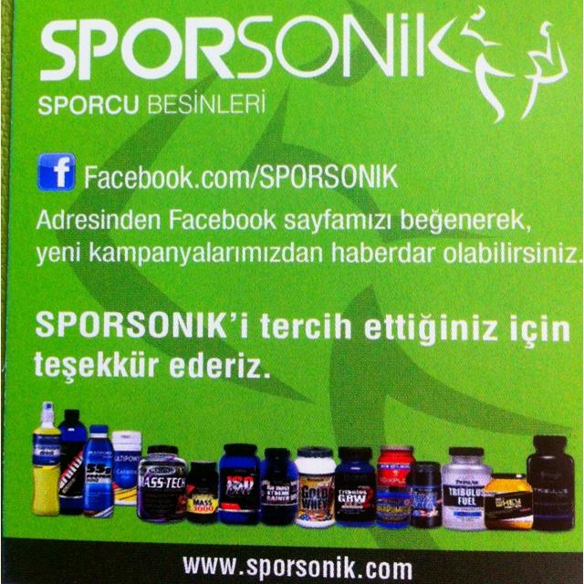 SPORSONİK Sporcu Besinleri