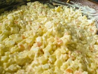 Salatka (Polish salad)
