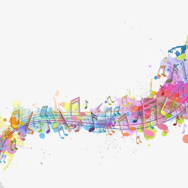 Notas De Cor Colorido Linda Notas Coloridas Imagem Png E Vetor Para Download Gratuito Notas Musicais Coloridas Musica E Arte Ilustracao Da Musica
