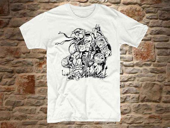 muttan teenage ninja turtles a 100 cotton by communityshirt, $15.50