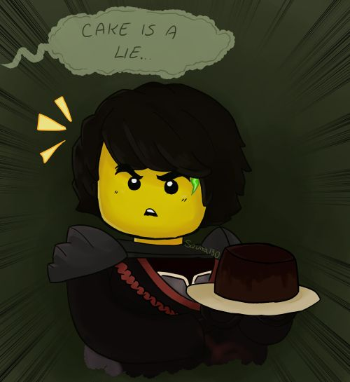 NO ITS NOT!!!!!! CAKE IS WONDERFUL!!!!!!