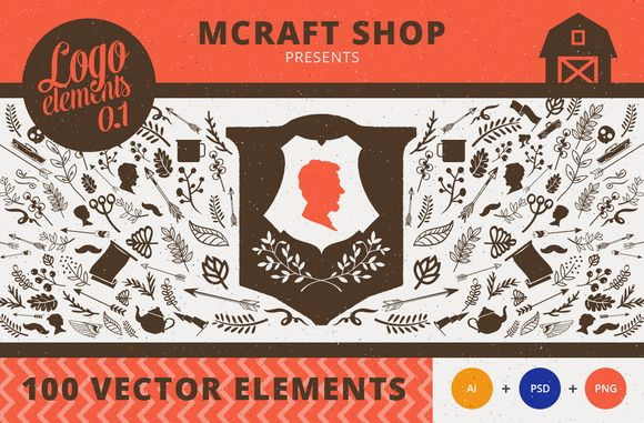 Logo Elements by Mcraft on Creative Market