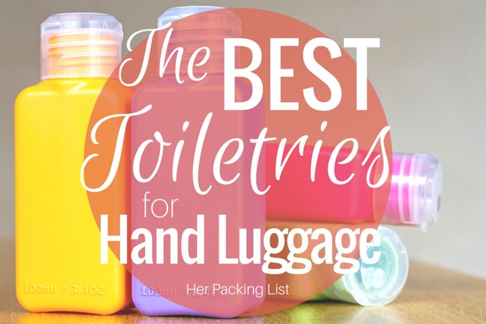 There's generally one main issue with packing carry-on only: toiletries. What are the best toiletries for hand luggage? We explore the answer in this post.