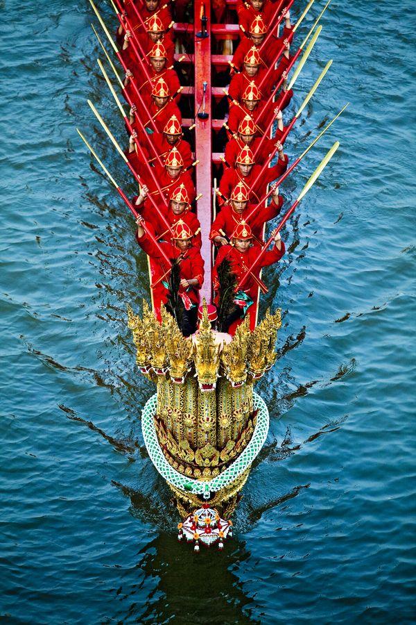 Royal Barge Procession Bangkok,thailand ....by chattakan kosol, via 500px