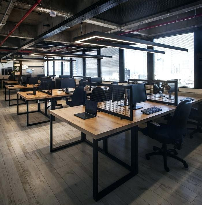 Office Designs Trendy Small Office Design Ideas Industrial Office