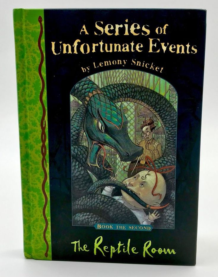 A series of unfortunate events The reptile room Lemony Snicket Second Book