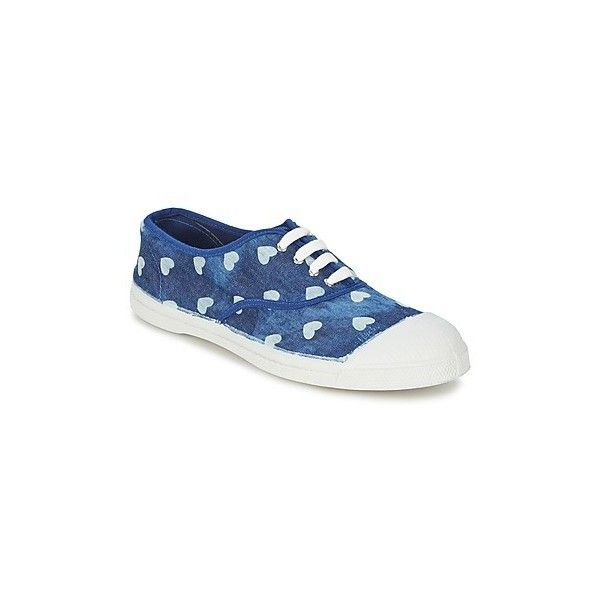 Bensimon TENNIS ELLY Shoes Trainers 180 ILS ? liked on Polyvore  featuring