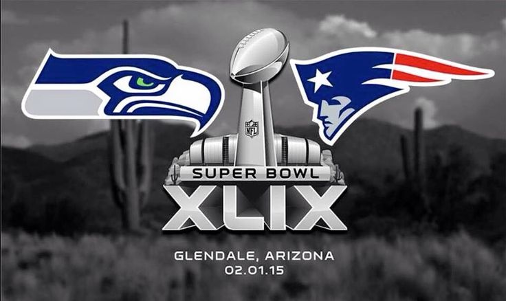 Seahawks vs Patriots bound for NFL Super Bowl XLIX Sun, Feb 1, 3:30 PM on NBC University of Phoenix Stadium, Glendale, Arizona