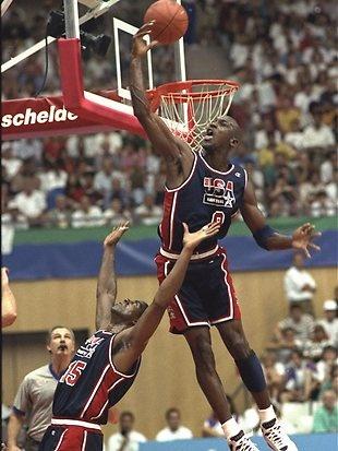 Michael Jordan, Juegos Olímpicos Barcelona 1992.