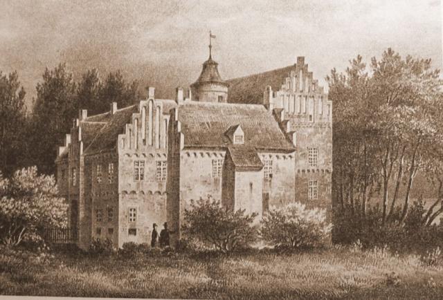 Rygård Herregård, mellem Svendborg og Nyborg.1847