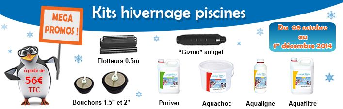 Protégez votre piscine bois du froid et du gel avec nos kits hivernage ! | Manubricole.com
