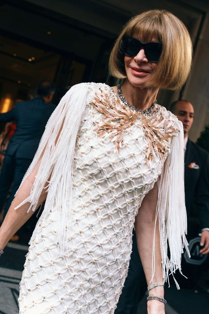 Anna Wintour at the 2016 Met Gala.