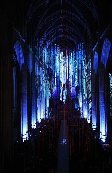 Graced with Light: pt III, 2013, Grace Cathedral, San Francisco.