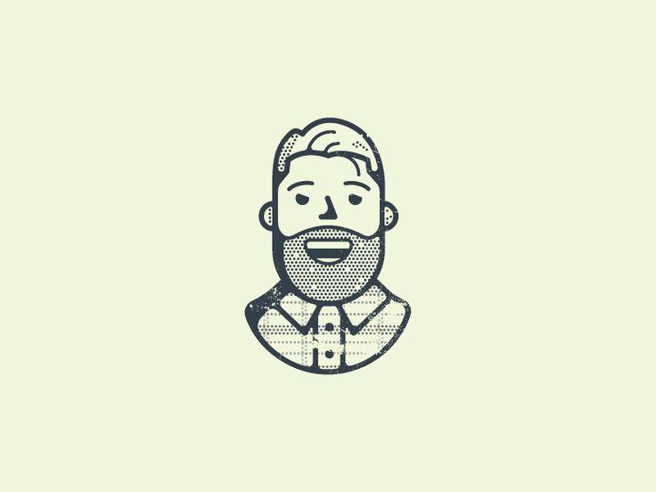 Self Portrait by Greg Fisk #Design Popular #Dribbble #shots