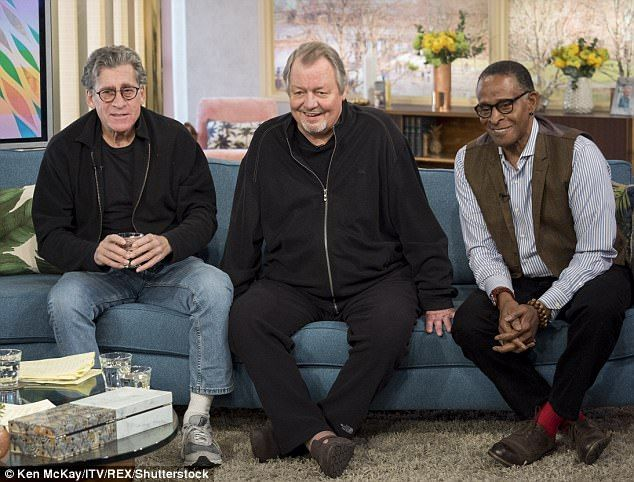 Full line-up: Paul Michael Glaser, David Soul and Antonio Fargas appeared on the show ...