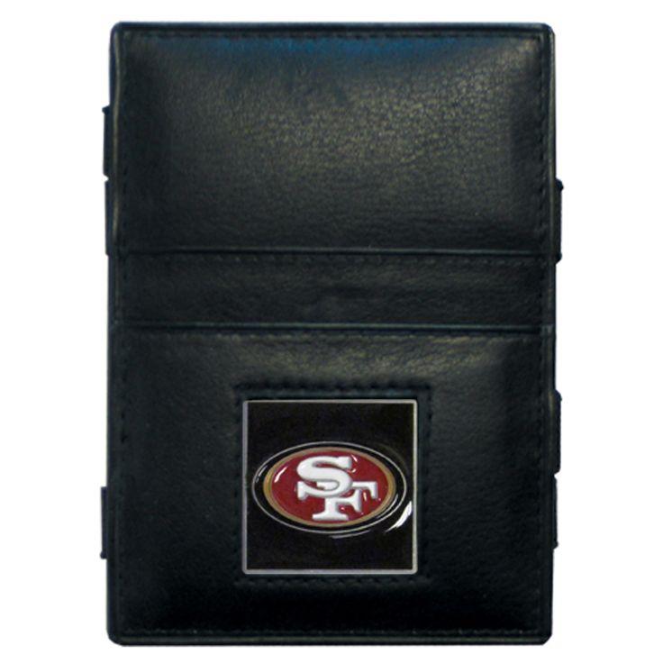 Siskiyou NFL San Francisco 49ers Jacob's Ladder Wallet