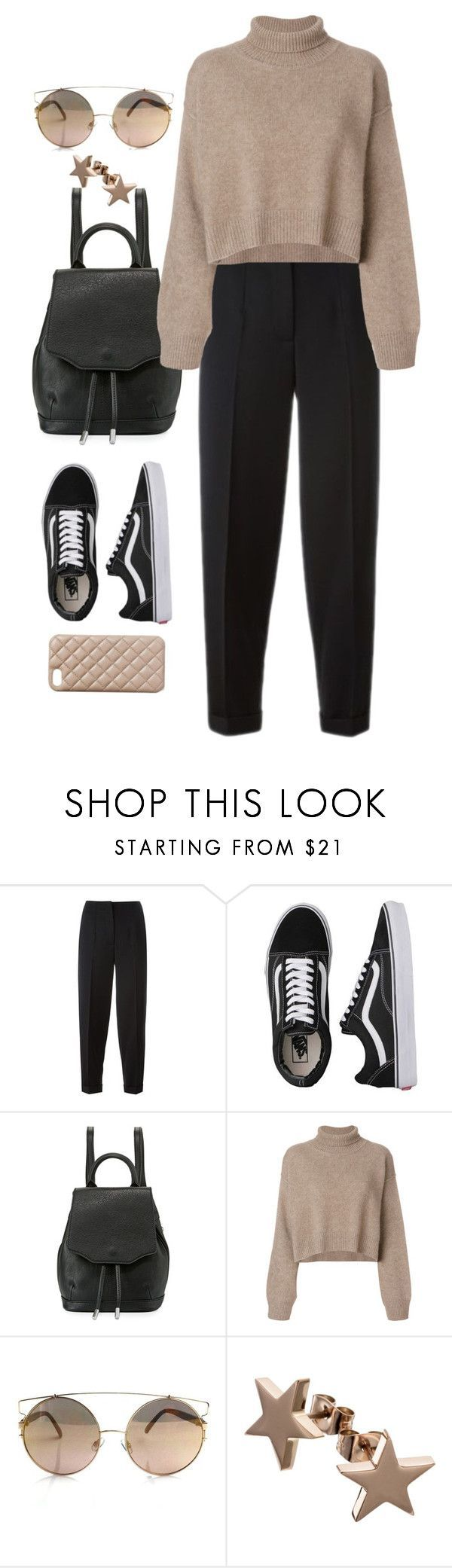 """Sin título #4009"" by beel94 ❤ liked on Polyvore featuring Alexander McQueen, Vans, rag & bone, Rejina Pyo and The Case Factory"