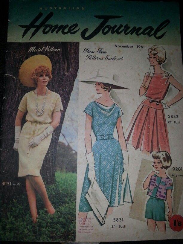 Australian home journal November 1961 cover