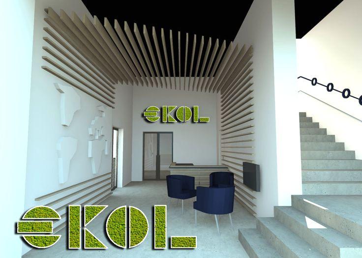 Projekt #logo z mchu włoskiej marki @mosstrend .   Projekt A. Brzuska  #officedesign #office #ekol #design #projektwnetrza #projektowaniebiura #biuro #biurodesign #projektbiura #poznan