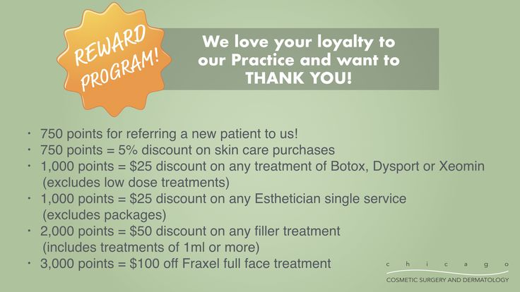 Did you know our #rewards program is super easy and you get points for all the services you already love?! 👍 $1 = 1 point!  #rewardprogram #reward #loyalty #chicagodermatology #chicago #ccsd #dermatology #dermatologist #skincare #botox #Esthetician #filler #injectables