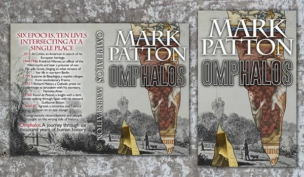 """My third novel, """"Omphalos,"""" published by Crooked Cat Publications. http://Author.to/MarkPatton"""