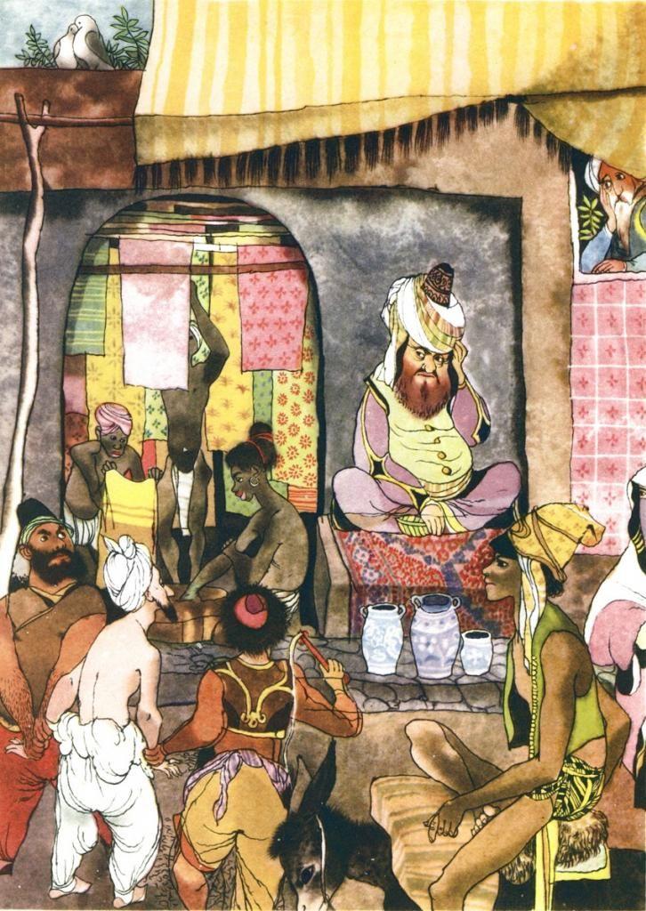 Tales from the Arabian Nights by Jiri Trnka