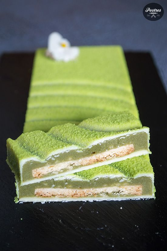 Turrón de Té Verde Matcha, Yogur y Limón