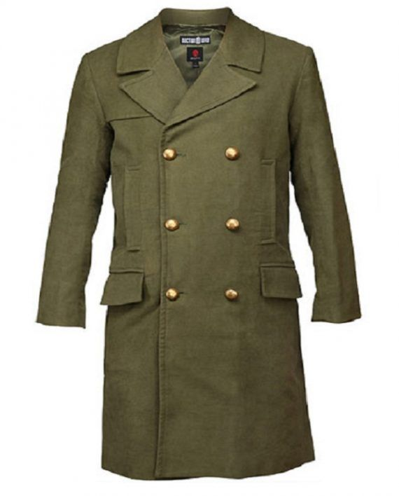 Doctor Who 11th Doctor Green Coat (2)