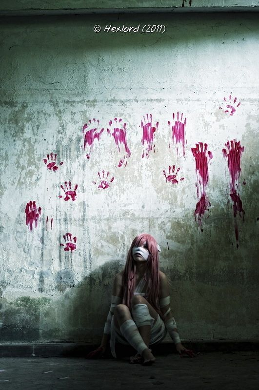 Elfen Lied cosplay by Byou and Thomas Kuan